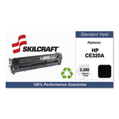 751000NSH1109 Remanufactured CE320A Toner, Black