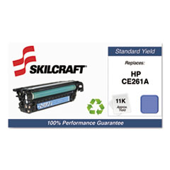 751000NSH1115 Remanufactured CE261A Toner, Cyan