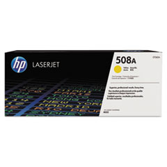 HP 508A, (CF362A) Yellow Original LaserJet Toner Cartridge