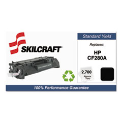 751000NSH1318 Remanufactured CF280A Toner, Black