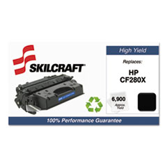 751000NSH1319 Remanufactured CF280X High-Yield Toner, Black