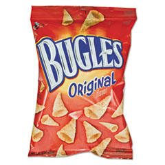 BUGLES ORGINAL CORN SNACKS 3OZ BAG 6BX