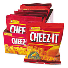 Cheez-It Crackers, 1.5oz Single-Serving Snack Pack, 8/Box KEB12233