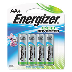 Eco Advanced Batteries, AA, 4/Pk