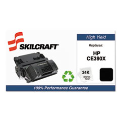 751000NSH1222 Remanufactured CE390X High-Yield Toner, Black
