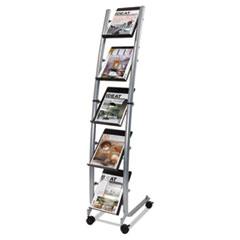 Alba Designed Narrow Mobile Literature Display 5 levels ABADD5PM