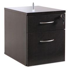 Alera Sedina Series Hanging Box/File Pedestal, 15 3/8w x 22d x 19h, Espresso