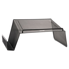 Mesh Telephone Desk Stand, 10 x 11 1/4 x 5 1/4, Black