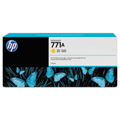 HP 771, (B6Y18A) Yellow Original Ink Cartridge