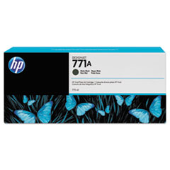 HP 771, (CE037A) Matte Black Original Ink Cartridge