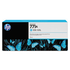HP 771, (B6Y20A) Light Cyan Original Ink Cartridge