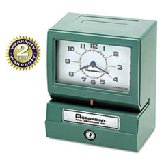 MODEL 150 ANALOG AUTOMATIC PRINT TIME CLOCK WITH