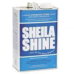 SHEILA SHINE STAINLESS STEEL CLEANER & POLISH 1GAL 4CS