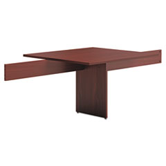 BL Laminate Series Modular Conference Table Adder, 48 x 44 x 29 1/2, Mahogany