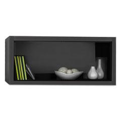e5 Overhead Storage Cabinet, 30w x 15d x 15h, Raven