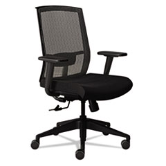 Gist Task Chair, Black/Silver