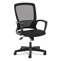 VL525 Mesh High-Back Task Chair, Black