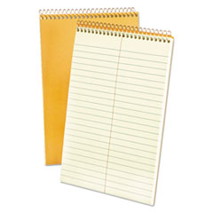 Spiral Steno Book, Gregg, 6 x 9, 20 lb, Green Tint, 80 Sheets, 6/Pack