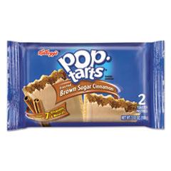 Pop Tarts, Brown Sugar Cinnamon, 3.52oz, 2/Pack, 6 Packs/Box KEB31131