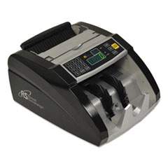 Electric Bill Counter, 1000/Bills/Min, 12 3/8 x 9 7/8 x 6 1/2, Black/Silver