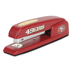 747 NFL Full Strip Stapler, 25-Sheet Capacity, 49ers