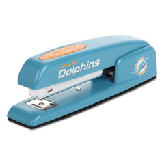 747 NFL Full Strip Stapler, 25-Sheet Capacity, Dolphins