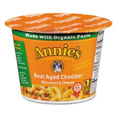 ANNIE'S AGED CHEDDAR MAC & CHEESE 2.01OZ CUP 12CT