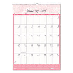 Breast Cancer Awareness Monthly Wall Calendar, 16-1/2 x 12, 2016