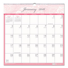 Breast Cancer Awareness Monthly Wall Calendar, 12 x 12, 2016