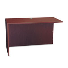 BL Series Return Shell, 48-1/4w x 24d x 29h, Mahogany
