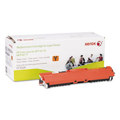 6R3244 Compatible Reman (CF352A) Toner, 1000 Page Yield, Yellow