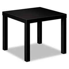 Laminate Occasional Table, 24w x 24d x 20h, Black