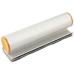 Big E Eraser with Pad, Refillable, 7 x 2 x 1/4, Silver