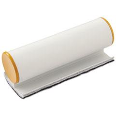 Big E Eraser with Pad, Refillable, 5 x 2 x 2, Silver