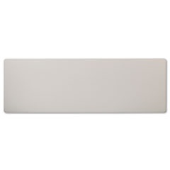 Rectangular Training Table Top Without Grommets, 72w x 24d, Light Gray