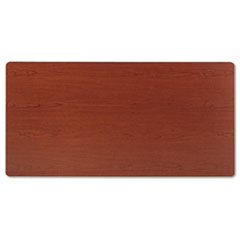 Rectangular Training Table Top Without Grommets, 60w x 30d, Bourbon Cherry