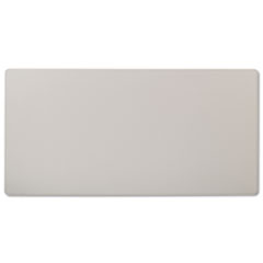 Rectangular Training Table Top Without Grommets, 60w x 30d, Light Gray