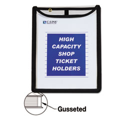 High Capacity, Shop Ticket Holders, Stitched, 150 Sheets, 9 x 12 x 1, 15/BX