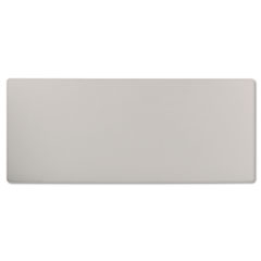 Rectangular Training Table Top Without Grommets, 72w x 30d, Light Gray