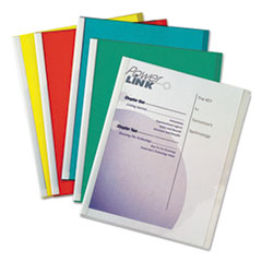 Report Covers with Binding Bars, Vinyl, Assorted, 8 1/2 x 11, 50/BX