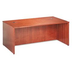 BW Veneer Series Rectangular Desk Shell, 72w x 36w x 29h, Bourbon Cherry