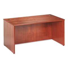 BW Veneer Series Rectangular Desk Shell, 60w x 30w x 29h, Bourbon Cherry