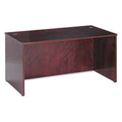 BW Veneer Series Rectangular Desk Shell, 60w x 30w x 29h, Mahogany