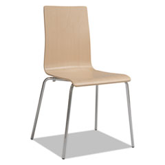 Bosk Stack Chair, Beech, 2/Carton