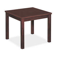 Occasional Table, Square, 24w x 24d x 20h, Mahogany