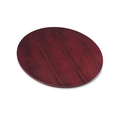 "BW Veneer Series Round Conference Table Top, 42"" Diameter, Mahogany"