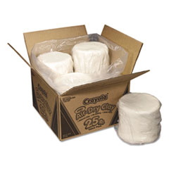 Air-Dry Clay, White, 25 lbs