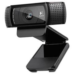 C920 HD Pro Webcam, 1080p, Black