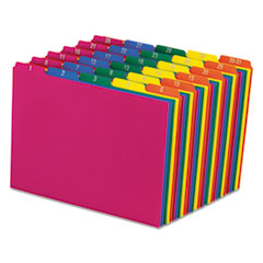 Top Tab File Guides, Daily/1-31, 1/5 Tab, Polypropylene, Letter, 31/Set