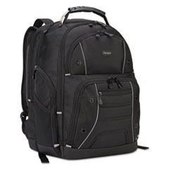 "Drifter Plus with TSA Backpack, For 16"" Laptop, 13 3/4 x 8 1/8 x 17 3/4, Black"
